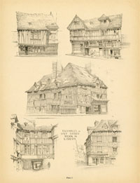 French Architecture Print (No. 80280001)