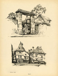 French Architecture Print (No. 80280010)