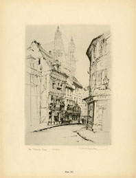French Architecture Print (No. 80280012)