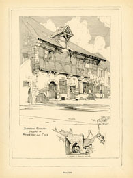 French Architecture Print (No. 80280013)