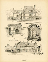 French Architecture Print (No. 80280016)