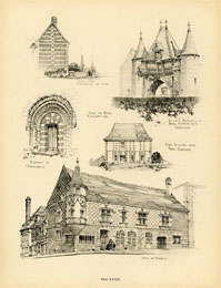 French Architecture Print (No. 80280028)