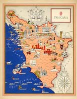 Tuscany Map (No. 40070010)