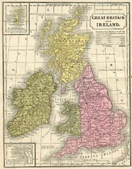 No. 40120016 - Great Britain and Ireland Map