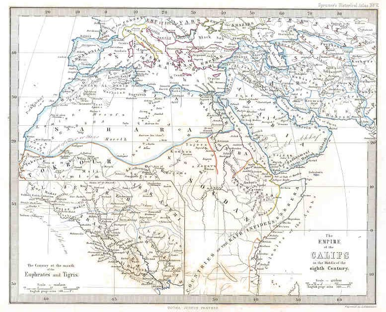 Empire of the Caliphs (Eighth Century)
