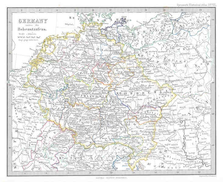Germany under the Hohenstaufens