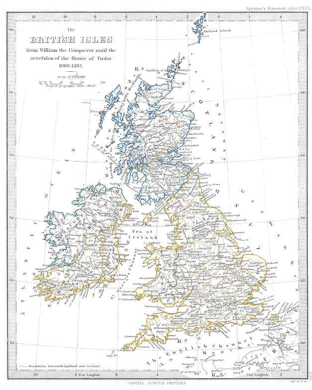 British Isles (1066 to 1485)