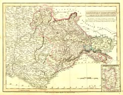 Antique World Map - Sardinia (No. 40440012)