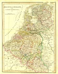 Antique World Map - Holland (No. 40440013)