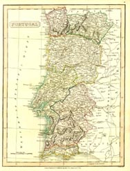 Antique World Map - Portugal (No. 40440019)
