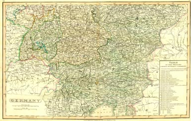 Antique World Map - Germany (No. 40440022)