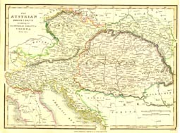 Antique World Map - Austria (No. 40440024)