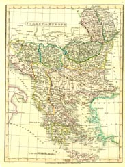 Antique World Map - Turkey (No. 40440032)
