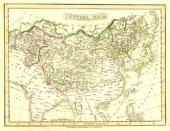 Antique World Map - Asia (No. 40440044)