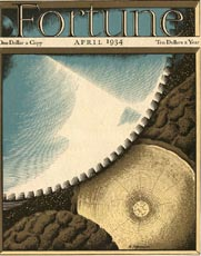 Fortune Magazine Covers - 1934 (No. 60203404)