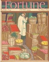 Fortune Magazine Covers - 1934 (No. 60203406)