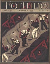 Fortune Magazine Covers - 1934 (No. 60203410)