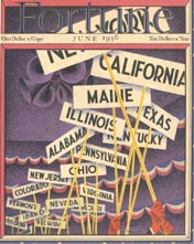 Fortune Magazine Covers - 1936 (No. 60203606)
