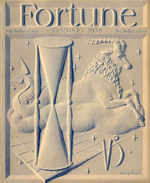 Fortune Magazine Cover - 1939 (No. 60203901)