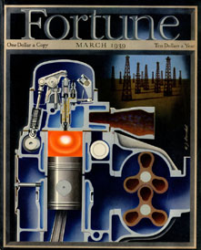 Fortune Magazine Cover - 1939 (No. 60203903)