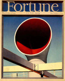 Fortune Magazine Cover - 1939 (No. 60203906)