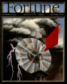 Fortune Magazine Cover - 1939 (No. 60203908)