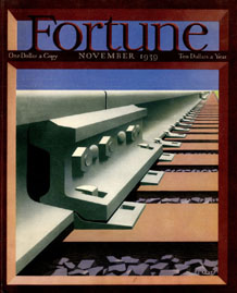 Fortune Magazine Cover - 1939 (No. 60203911)