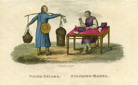 Viper Seller and Stocking Maker