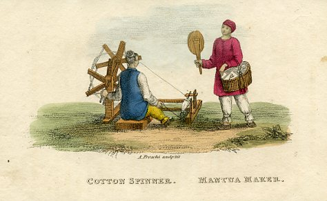 Cotton Spinner and Mantua Maker
