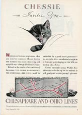 Chessie the Cat Ads (No. 60420021)