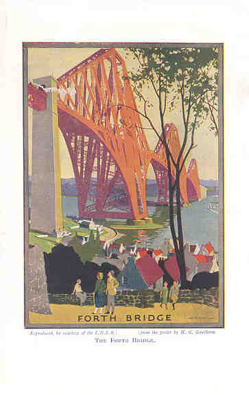 The Forth Bridge (LNER Travel Poster)