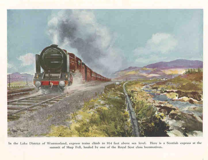 Scottish Express in the Lake District, Westmorland