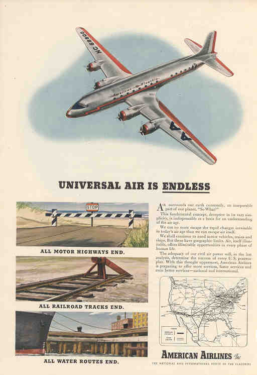 Universal Air is Endless (American)