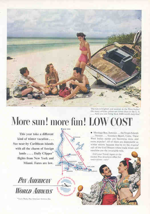 More sun! more fun! Low Cost (Pan Am)