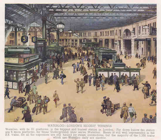 Waterloo - London's Biggest Terminus