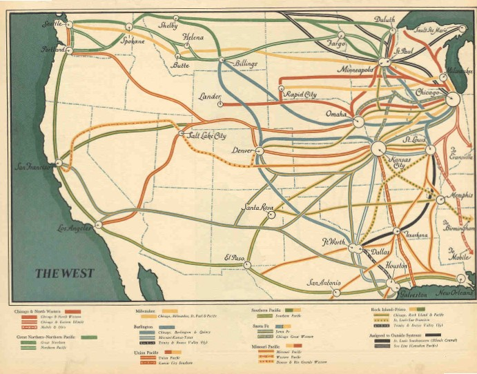 Railroads of the West