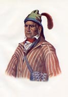 Creek Indians Print (No. 61060066)