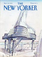 New Yorker Magazine Cover (No. 61181112)