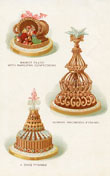 Baking Prints - Marcipan Pastries (No. 61210005)
