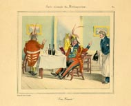 Grandville Prints - Carte vivante du Restaurater (No. 61260001)