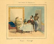 Grandville Prints - Carte vivante du Restaurater (No. 61260004)