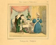 Grandville Prints - Carte vivante du Restaurater (No. 61260008)