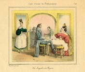 Grandville Prints - Carte vivante du Restaurater (No. 61260010)