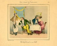 Grandville Prints - Carte vivante du Restaurater (No. 61260011)