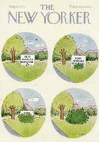 New Yorker Magazine Cover (No. 61280808)