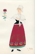 French Provincial Costume Print (No. 61290015)