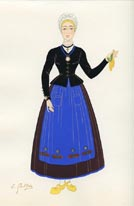 French Provincial Costume Print (No. 61290025)