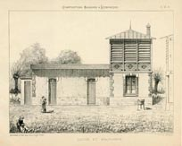 Architecture Prints - Washing House (No. 61370033)