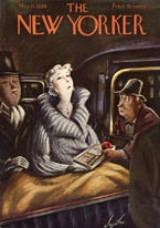 New Yorker Magazine Covers - 1939 (No. 69390311)