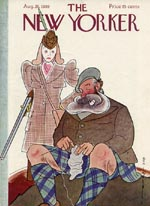 New Yorker Magazine Covers - 1939 (No. 69390826)